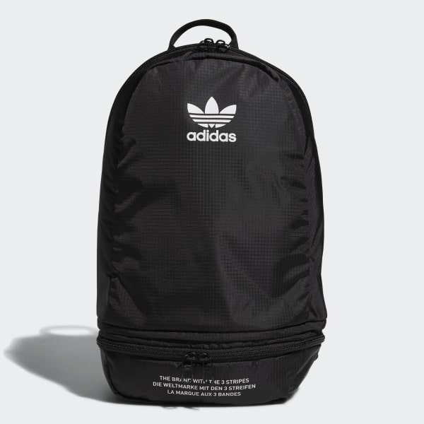 0f68e436dfd5 adidas Packable Two-Way Backpack - Black