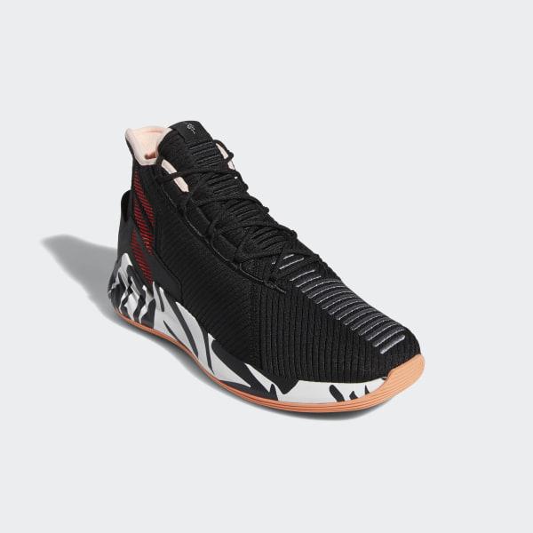 54dcb8215d81 D Rose 9 Shoes Core Black   Scarlet   Ftwr White F99884