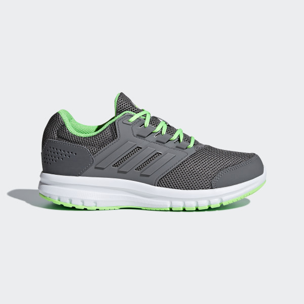 another chance 3e57b 5a17c Tenis Galaxy 4 GREY FOUR F17GREY FOUR F17SHOCK LIME B75655
