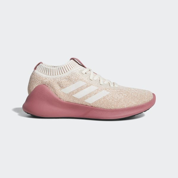 b09d1ee3f63 Purebounce+ Shoes Running White   Running White   Trace Maroon D96589