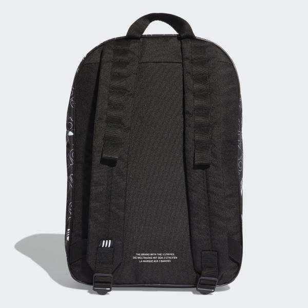 8c81c48cc107 Plecak Adicolor Medium Black   White DV0188