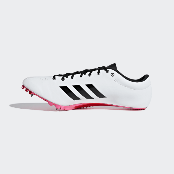 best loved 73968 9d886 Adizero Prime Sprint Spikskor Ftwr White  Core Black  Shock Red B37494