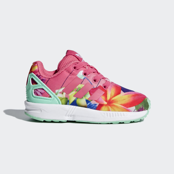 premium selection cf13c 1d530 Tenis ZX Flux REAL PINK S18 REAL PINK S18 FTWR WHITE CM8123