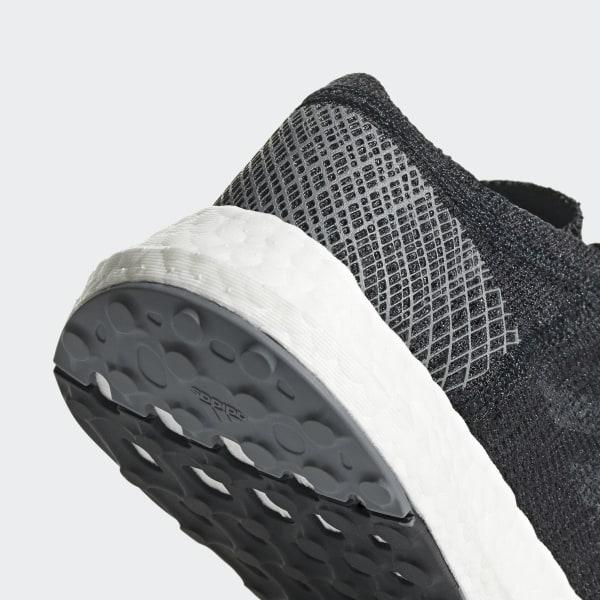 9b7da74a22ad9 Pureboost Go Shoes Core Black   Grey   Grey Four B43503