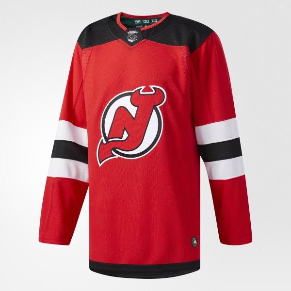 06d3f736b adidas Devils Home Authentic Pro Jersey - White