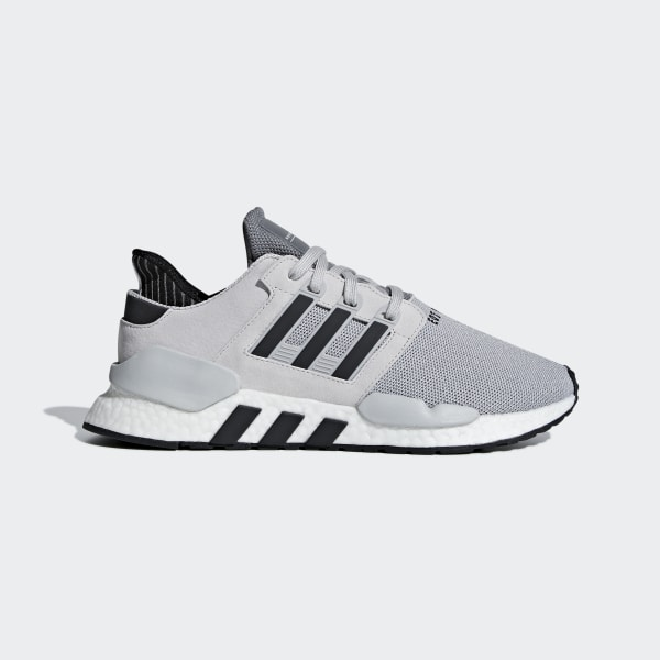 9166f5a2bc139 EQT Support 91 18 Shoes Grey Two   Core Black   Grey Four BD8048