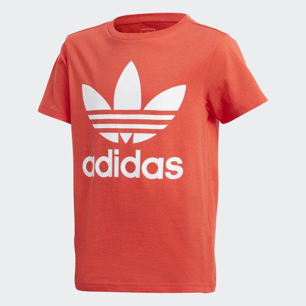 6f363b0f89 Camiseta Trefoil BRIGHT RED WHITE DH2474