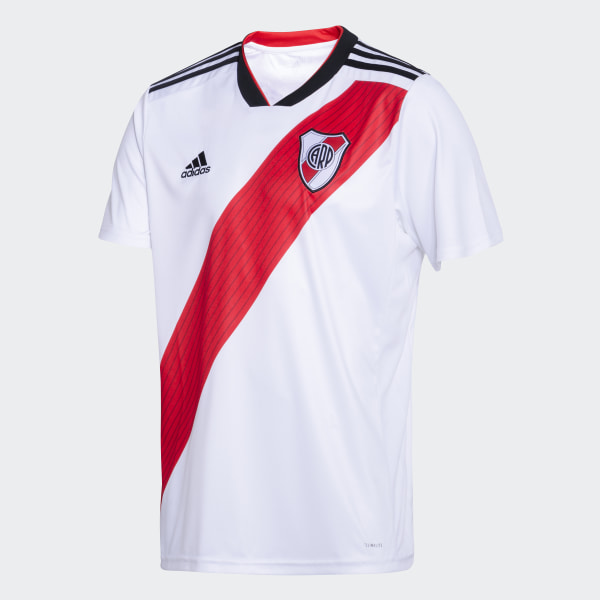 b17348a81a4ef Camiseta Titular de Local Club Atlético River Plate WHITE RED BLACK CF8965