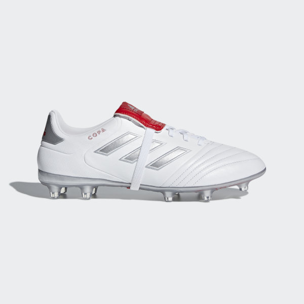 size 40 6d27e 830bf Copa Gloro 17.2 Firm Ground Boots Ftwr White  Silver Met.  Red DB3428