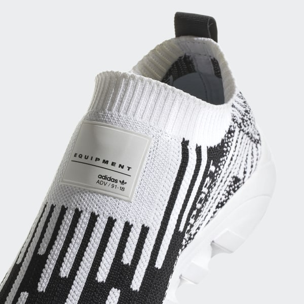 best sneakers 4c3fc 03e2d EQT Support Sock Primeknit Shoes Cloud White  Core Black  Sub Green B37524