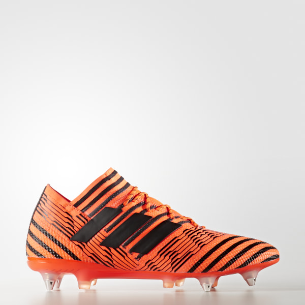 on sale 7cb00 43ca9 Calzado de Fútbol Nemeziz 17.1 Terreno Suave SOLAR ORANGE CORE BLACK SOLAR  RED S82334