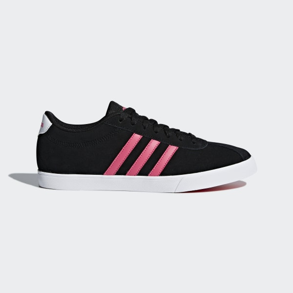 best sneakers 13453 021e0 Tenis Courtset CORE BLACK REAL PINK S18 FTWR WHITE DB0145