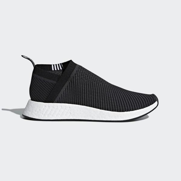 new style 66d9e 53cac NMDCS2 Primeknit Shoes Core Black  Carbon  Cloud White D96744