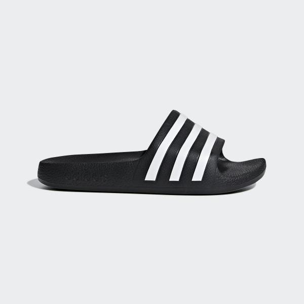 d68a804e1079 adidas Adilette Aqua Slides - Black