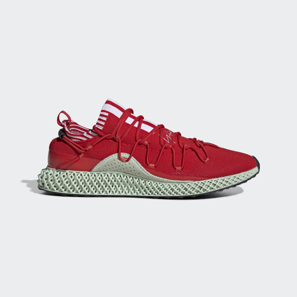 new concept 59ec9 8fb63 Y-3 Runner 4D RED  FTWR WHITE  AERO GREEN F99805