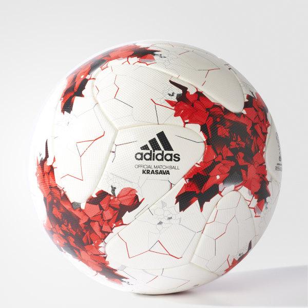 162679e2dce24 Balón oficial FIFA WHITE RED POWER RED CLEAR GREY S12  BLACK AZ3183