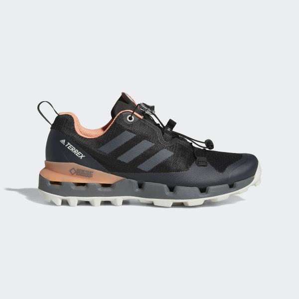 2122680e463 Zapatilla adidas TERREX Fast GTX Surround Core Black   Grey Five   Chalk  Coral AQ0371