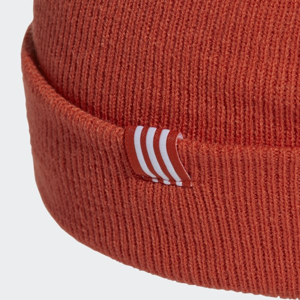 a0cbee484c1 adidas Trefoil Beanie - Orange