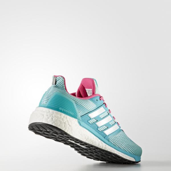 88f997272 Supernova Glide 9 Shoes Easy Green   Cloud White   Shock Pink BB6040