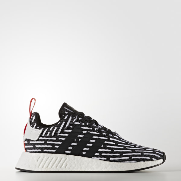 3eb271fc4e8158 NMD R2 Primeknit Shoes Core Black   Core Black   Cloud White BB2951