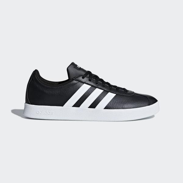 VL Court 2.0 Shoes Core Black   Ftwr White   Ftwr White B43814 13067369e8c58