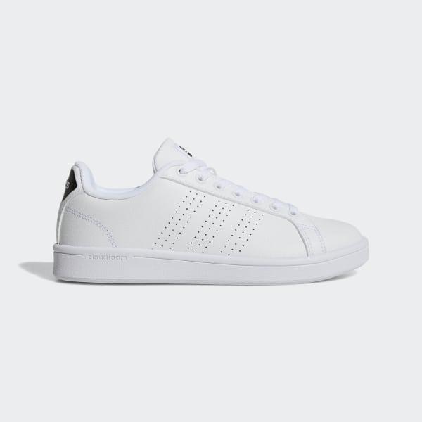 a53cc2afa6f9 Cloudfoam Advantage Clean Shoes Cloud White   Cloud White   Core Black  AW4323