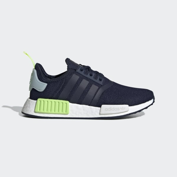 online retailer a5bfe 5ea9d NMD R1 Shoes Collegiate Navy   Collegiate Navy   Ice Mint CG6982
