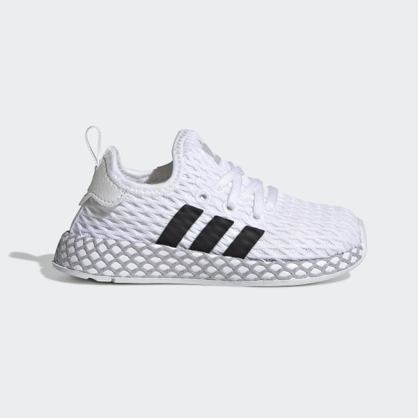 45fef7bc645088 Deerupt Runner Schuh Ftwr White   Core Black   Grey Two F34298