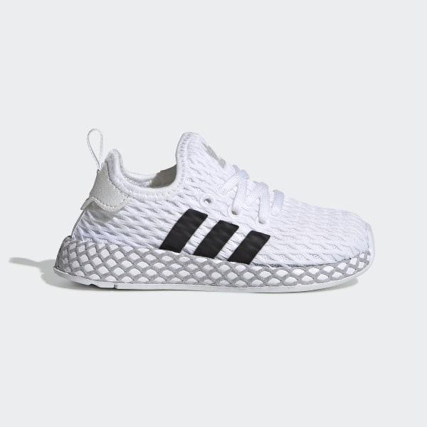 d1100da029434 Deerupt Runner Shoes Ftwr White   Core Black   Grey Two F34298