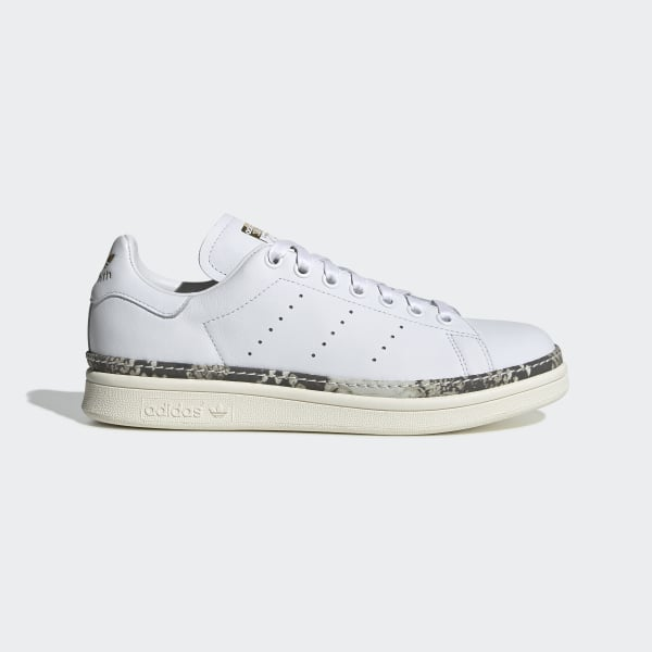 504b2320086 Sapatos Stan Smith New Bold Ftwr White   Off White   Supplier Colour DB3348