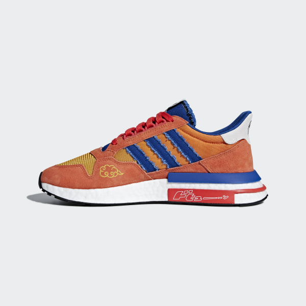 8f8ce0b8f7a Dragonball Z ZX 500 RM Shoes Orange   Collegiate Royal   Hi-Res Red D97046