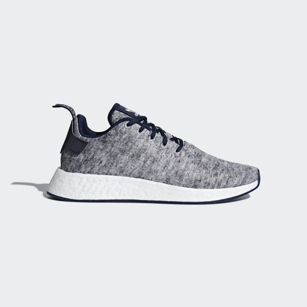 7f45ec9b8 UA SONS NMD R2 Shoes Core Heather   Matte Silver   Cloud White DA8834