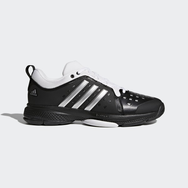 bdfdcbf41a4b0b Barricade Classic Bounce Shoes Core Black   Silver Metallic   Cloud White  CG3108