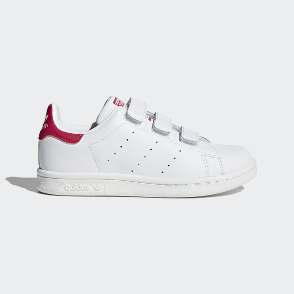 3e4a9794de4 Obuv Stan Smith White Bold Pink B32706