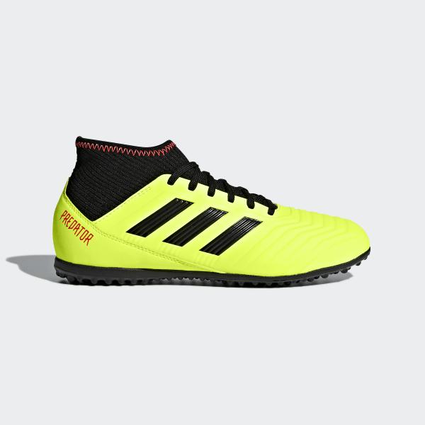 Botas de Futebol Predator Tango 18.3 – Relva Artificial Solar Yellow   Core  Black   Solar ad6c53f396f26