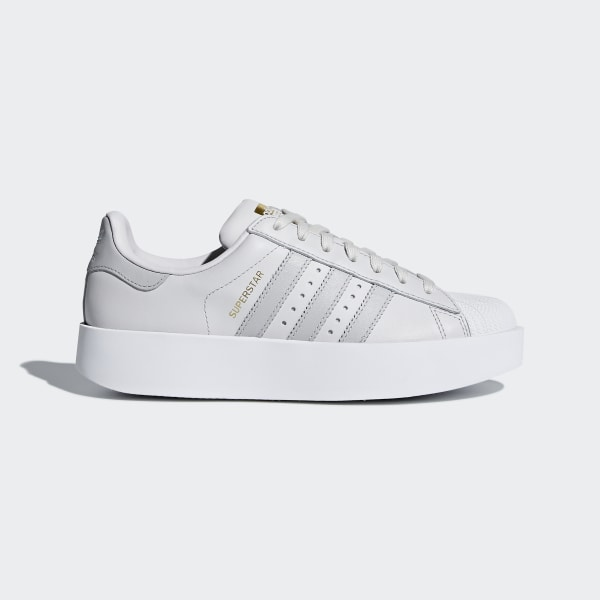 1fc5d40be2 Tênis Superstar Bold Platform GREY ONE F17 GREY TWO F17 FTWR WHITE CQ2824