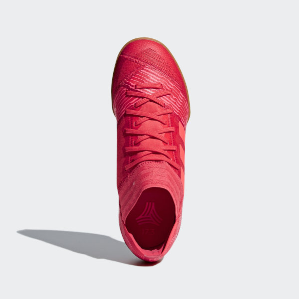 the latest 34c51 d4949 Nemeziz Tango 17.3 Indoor Boots Real Coral Red Zest Red Zest CP9183