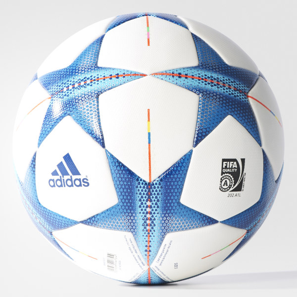 e2c3546553412 Pelota de fútbol Champions League OMB WHITE BRIGHT CYAN BRIGHT BLUE S90230