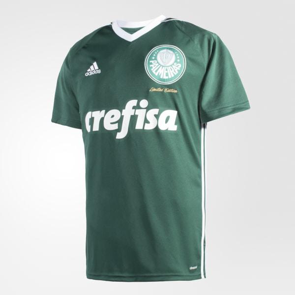 1fdb899b83 Camisa Palmeiras Obsessão COLLEGIATE GREEN WHITE CI8688