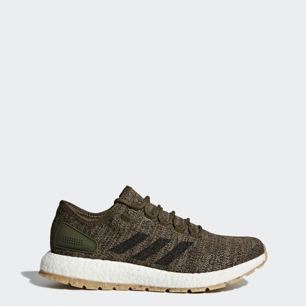 780142769fb93 PureBOOST All Terrain Shoes Trace Cargo   Core Black   Trace Olive S80784