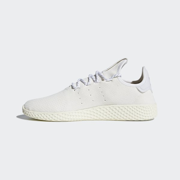 15b012256 Pharrell Williams Hu Holi Tennis Hu BC Shoes Cream White   Cream White    Cloud White