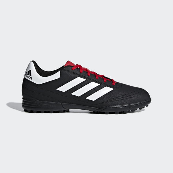 a0d73c67e32f Goletto 6 Turf Shoes Core Black   Cloud White   Scarlet G26369