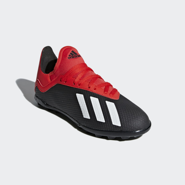 low priced 1a917 d1af0 Chaussure X Tango 18.3 Turf Core Black  Off White  Active Red BB9402
