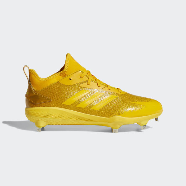 the best attitude 8122c 6a688 Adizero Afterburner V Dipped Cleats Eqt Yellow  Collegiate Gold  Shock  Yellow AQ0090