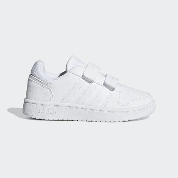 3a908bcc27b464 Hoops 2.0 Shoes Ftwr White   Ftwr White   Ftwr White F35895