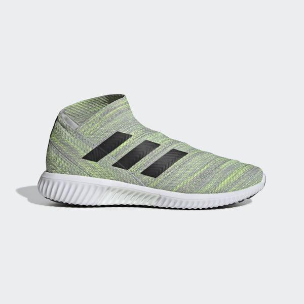 Zapatos de Fútbol Nemeziz Tango 18.1 Grey Two   Core Black   Solar Yellow  BB9457 20becf62c2e77