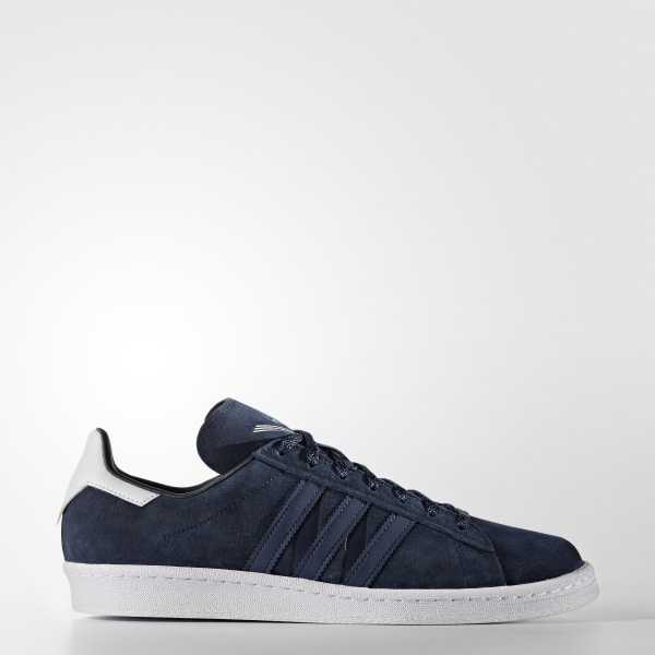 e529a2fb1f46 adidas Men s White Mountaineering Campus 80s Shoes - Blue ...