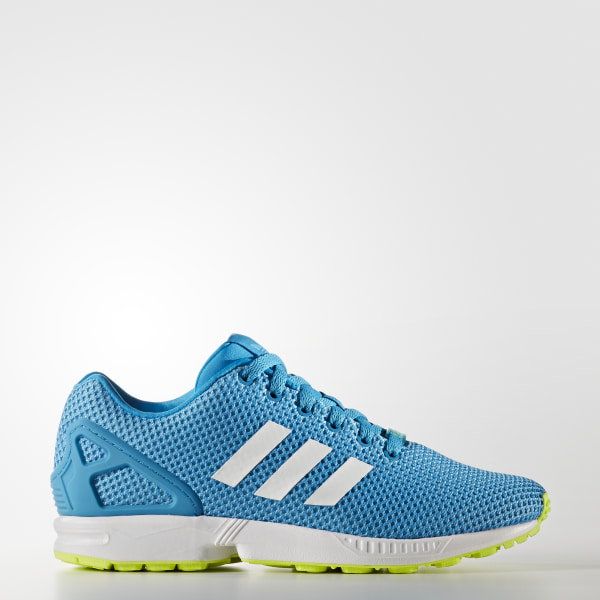 quality design 58faf 61dc8 Tenis ZX Flux BOLD AQUA FTWR WHITE SOLAR YELLOW BB2168