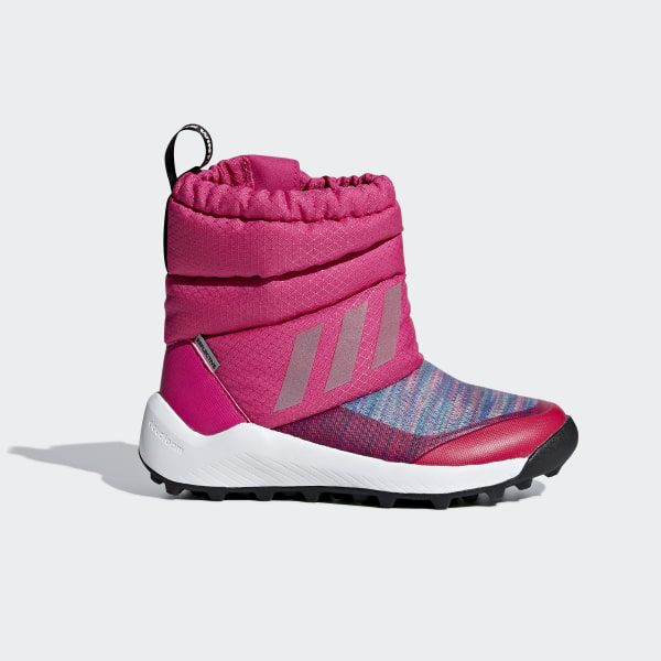 21959af32 adidas RapidaSnow Beat the Winter Boots - Pink