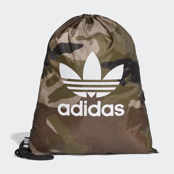 a99b9f88b adidas Camouflage Gym Sack - Green